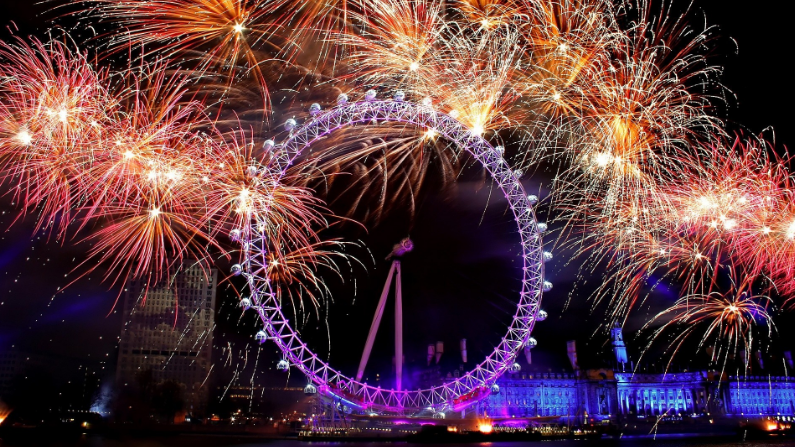 London happy new year wallpapers